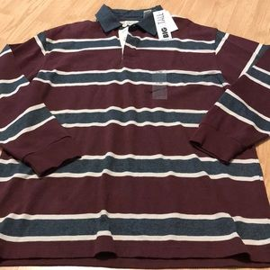 Authentic StJohnsBay Big & Tall Long Sleeve Top L
